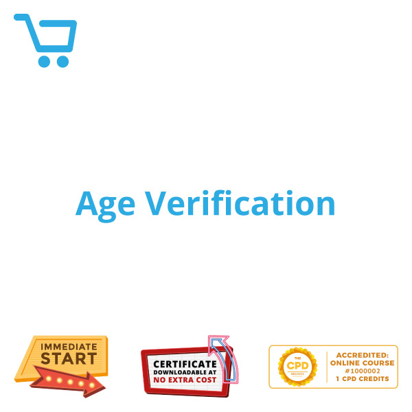 Age Verification - eLearning CPD #1000002