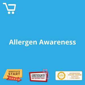 Allergen Awareness - eLearning CPD #1000003