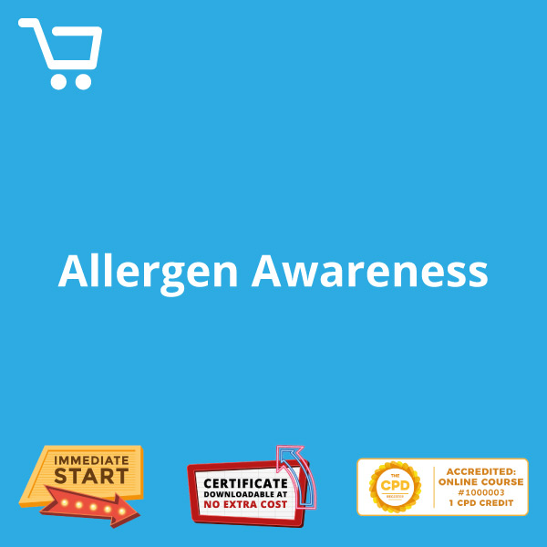 Allergen Awareness - eLearning CPD #1000003