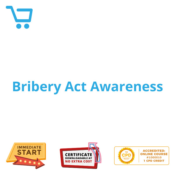 Bribery Act Awareness - eLearning CPD #1000010