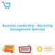 Business Leadership - Becoming Management Material - eBook CPD #1000958