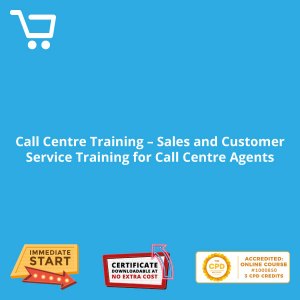 Call Centre Training - Sales and Customer Service Training for Call Centre Agents - eBook CPD #1000850