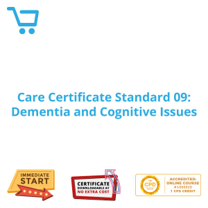 Care Certificate Standard 09: Dementia and Cognitive Issues - eLearning CPD #1000020