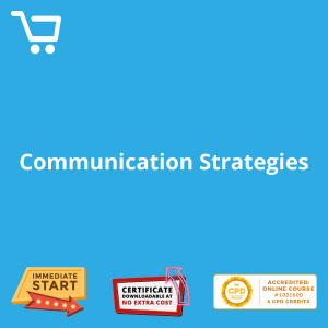 Communication Strategies - Distance Learning CPD #1001600