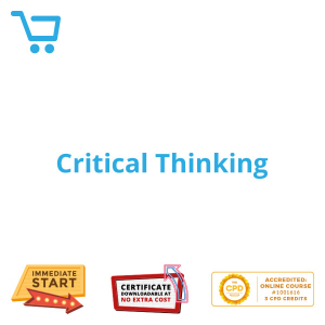 Critical Thinking - Distance Learning CPD #1001616