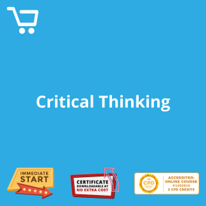 Critical Thinking - eBook CPD #1000858