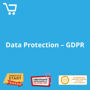 Data Protection - GDPR - eLearning CPD #1000387