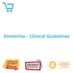 Dementia - Clinical Guidelines - eLearning CPD #1000040