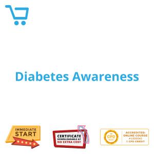 Diabetes Awareness - eLearning CPD #1000045