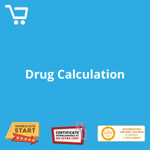 Drug Calculation - eLearning CPD #1000051
