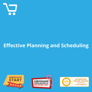 Effective Planning and Scheduling - eBook CPD #1000977