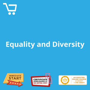 Equality and Diversity - eLearning CPD #1000057