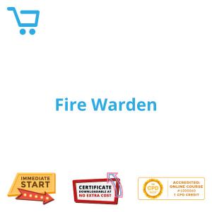 Fire Warden - eLearning CPD #1000060