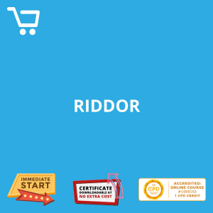 RIDDOR - eLearning CPD #1000102