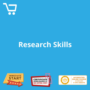 Research Skills - Distance Learning CPD #1001685