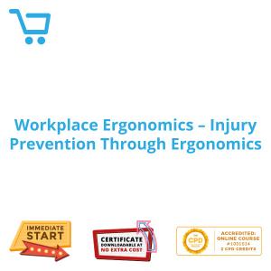 Workplace Ergonomics - Injury Prevention Through Ergonomics - eBook CPD #1001024