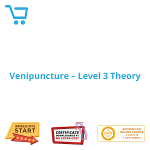 Venipuncture – Level 3 Theory - eLearning #1000126